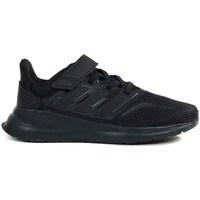 Zapatos Niños Running / trail adidas Originals Runfalcon C Negros