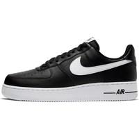 Zapatos Hombre Zapatillas bajas Nike Air Force 107 AN20 Negros