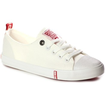 Zapatos Mujer Zapatillas bajas Big Star FF274087 Crema