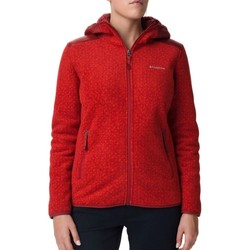 textil Mujer Polaire Columbia Winter Pass Rojo