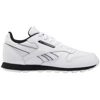 Zapatos Niños Zapatillas bajas Reebok Sport CL Lthr Blanco