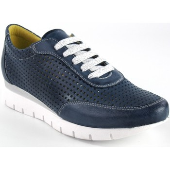 Zapatos Mujer Zapatillas bajas Chacal Zapato señora  5063 azul Azul