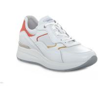 Zapatos Mujer Zapatillas bajas Nero Giardini 707 SKIPPER BIANCO Bianco