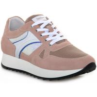 Zapatos Mujer Zapatillas bajas Nero Giardini VELOUR PEONIA Grigio