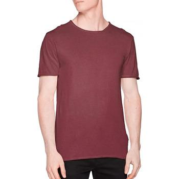 textil Hombre Camisetas manga corta Only & Sons   Rojo