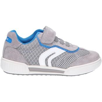 Zapatos Niños Zapatillas bajas Geox J02BCD 01422 J POSEIDO Gris