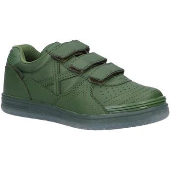 Zapatos Niño Zapatillas bajas Munich 1515958 G-3 MONOCHROME VERDE Verde
