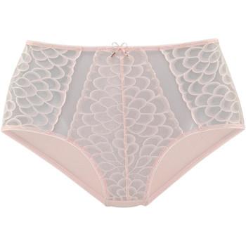 Ropa interior Mujer Culote y bragas Lascana Calzoncillos de cintura alta Camilla rosa Rosa Pálido