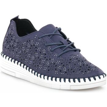 Zapatos Mujer Zapatillas bajas Grunland BLU F6VIVY Blu