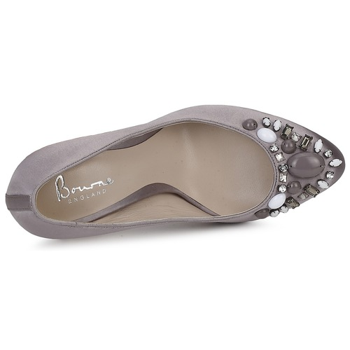 Bourne Zapatos Zapatos Tacón De De Gris dreQBoCWEx