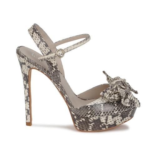 Zapatos Bourne Mollie Mujer Sandalias Gris sQthrdCx