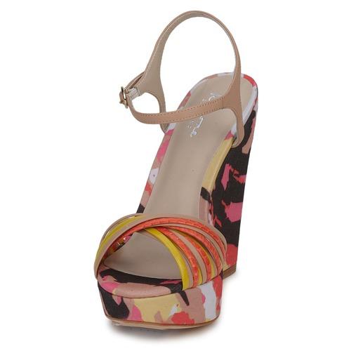 Zapatos Sandalias BeigeMulticolor Bourne Karmel Mujer dCorxWeB