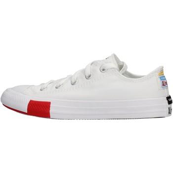 Zapatos Niño Zapatillas bajas Converse - Ctas ox bianco 366993C BIANCO