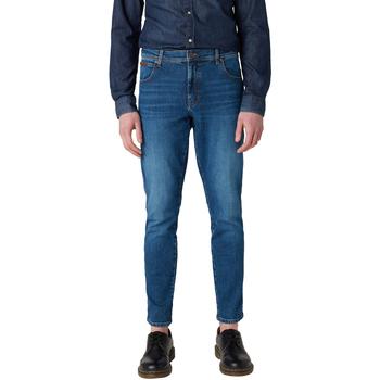 textil Hombre Vaqueros slim Wrangler - Texas slim jeans W12ST112E BLU