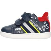 Zapatos Niño Deportivas Moda Falcotto - Polacchino blu/rosso ATLEY-1C23 BLU