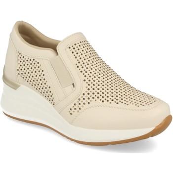 Zapatos Mujer Slip on Ainy 80129J19 Beige