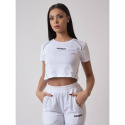 textil Mujer Camisetas manga corta Project X Paris  Blanco