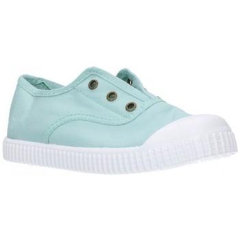 Zapatos Niña Zapatillas bajas Potomac 292   C62     Aguamar Niña Verde vert