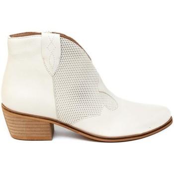 Zapatos Mujer Botines Bryan 3404 Beige