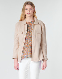 textil Mujer Chaquetas / Americana Betty London MOUCHE Beige