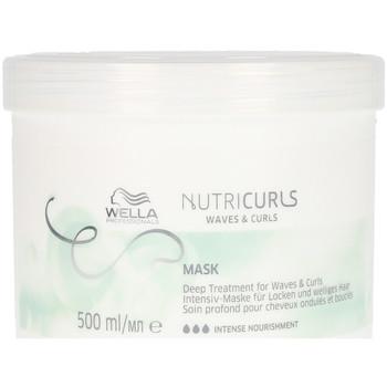 Belleza Acondicionador Wella Nutricurls Mask  500 ml