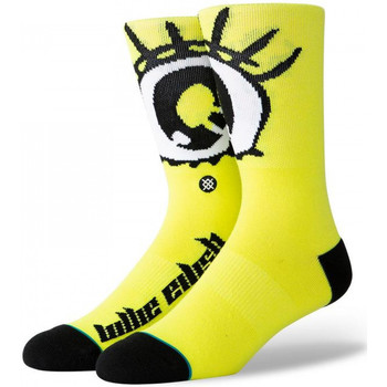 Accesorios textil Hombre Calcetines Stance Anime eyes Amarillo