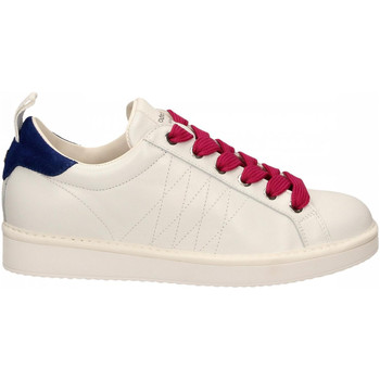 Zapatos Mujer Zapatillas bajas Panchic LOW CUT LEATHER FULL GRAIN white-l-fuxia