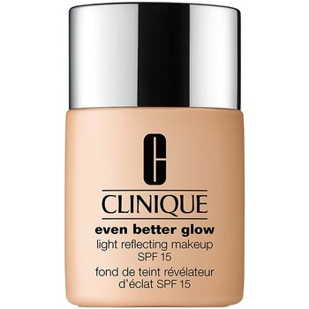 Belleza Mujer Base de maquillaje Estee Lauder CLINIQUE EVEN BETTER GLOW LIGHT REFLECTING MAKEUP SPF15 WN68 Multicolor