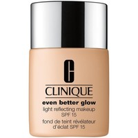 Belleza Mujer Base de maquillaje Estee Lauder CLINIQUE EVEN BETTER GLOW LIGHT REFLECTING MAKEUP SPF15 WN76 Multicolor