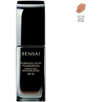 Belleza Mujer Base de maquillaje Sensai KANEBO  FLAWLESS SATIN FOUNDATION FS103 SAND BEIGE Multicolor