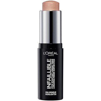Belleza Mujer Base de maquillaje L'oréal INFAILLIBLE ENLUMINEUR HIGHLIGHTER 501 OH MY JEWELS Multicolor