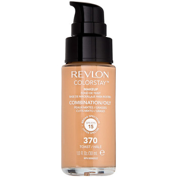 Belleza Mujer Base de maquillaje Revlon COLORSTAY MAKEUP COMBINATION OILY SPF15 370 TOAST 30M Multicolor