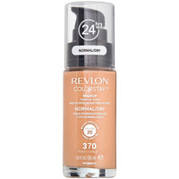 Belleza Mujer Base de maquillaje Revlon COLORSTAY MAKEUP NORMAL/DRY SPF20 370 TOAST 30ML Multicolor