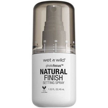 Belleza Mujer Tratamiento capilar Wetn Wild WET N WILD PHOTOFOCUS NATURAL FINISH SETTING SPRAY SEAL THE Multicolor