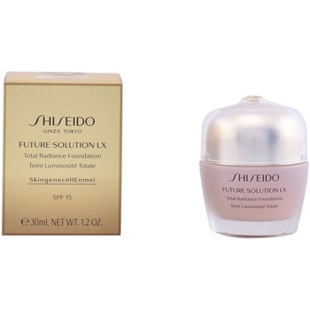 Belleza Mujer Base de maquillaje Shiseido FUTURE SOLUTION LX TOTAL RADIANCE FOUNDATION R3 Multicolor
