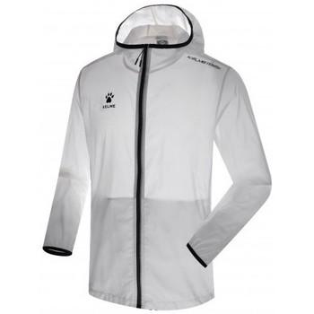 textil chaquetas de deporte Kelme CHUBASQUERO Blanco