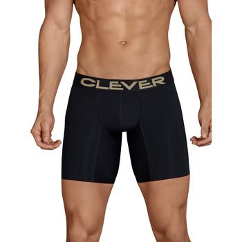 Ropa interior Hombre Boxer Clever Calzoncillos largos Kumpanias Pearl Black