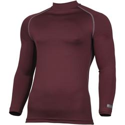 textil Hombre Camisetas manga larga Rhino RH001 Granate