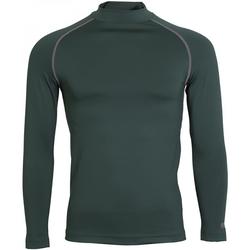 textil Hombre Camisetas manga larga Rhino RH001 Verde botella