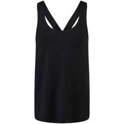 textil Niña Camisetas sin mangas Skinni Fit SM241 Negro