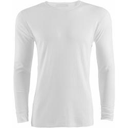 textil Hombre Camisetas manga larga Universal Textiles  Blanco
