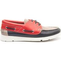 Zapatos Hombre Zapatos náuticos Purapiel 63833 MULTICOLORED
