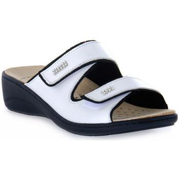 Zapatos Mujer Zuecos (Mules) Grunland BIANCO ESTA Bianco