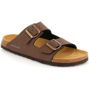 Zapatos Hombre Zuecos (Mules) Grunland DSG-CB3012 MOGANO
