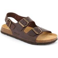 Zapatos Hombre Sandalias Grunland DSG-SB0396 MOGANO