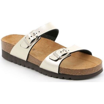 Zapatos Mujer Zuecos (Mules) Grunland DSG-CB2434 PLATINO