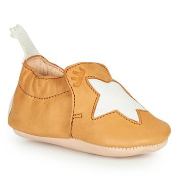 Zapatos Niños Pantuflas Easy Peasy BLUMOO ETOILE Cognac