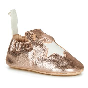 Zapatos Niños Pantuflas Easy Peasy BLUBLU ETOILE Rosa / Gold