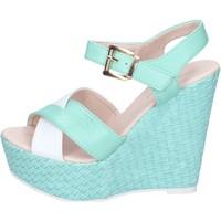 Zapatos Mujer Sandalias Solo Soprani BN643 verde