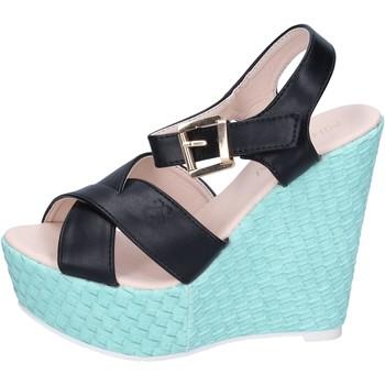 Zapatos Mujer Sandalias Solo Soprani BN644 negro